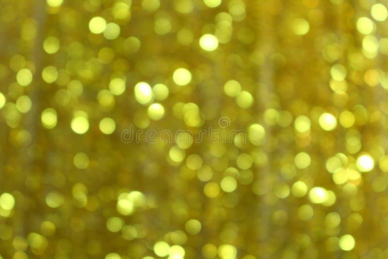 Gouden Vaag licht royalty-vrije stock afbeelding