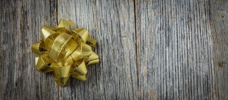 Gouden Vakantieboog stock foto's