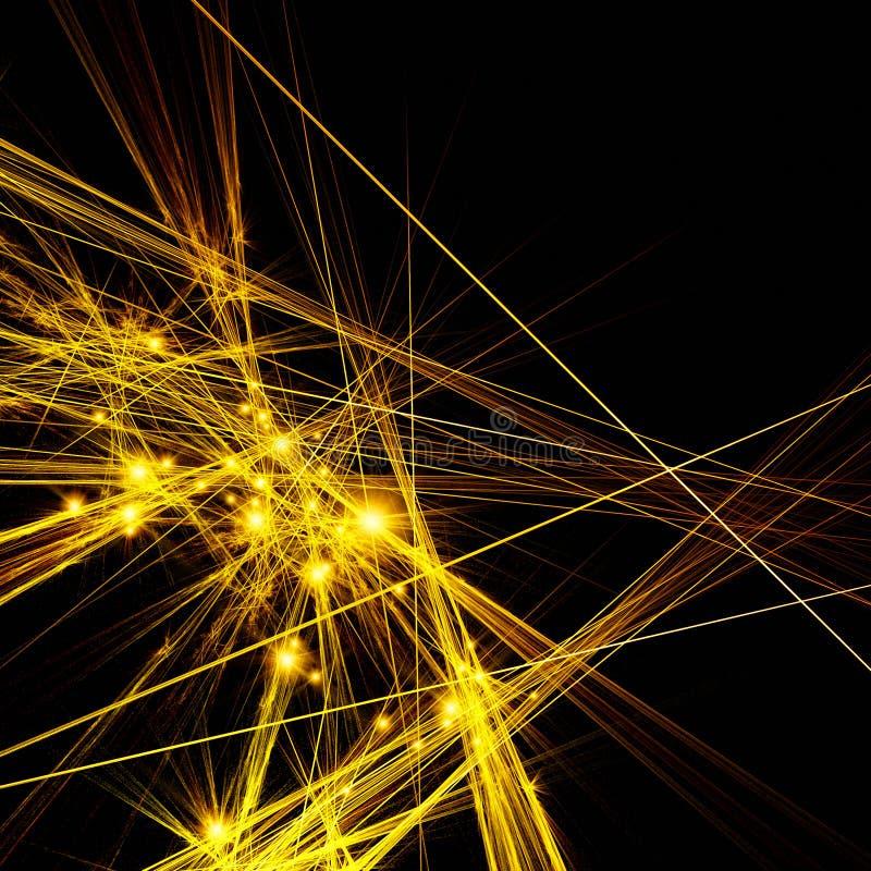 Gouden verbeelding vector illustratie