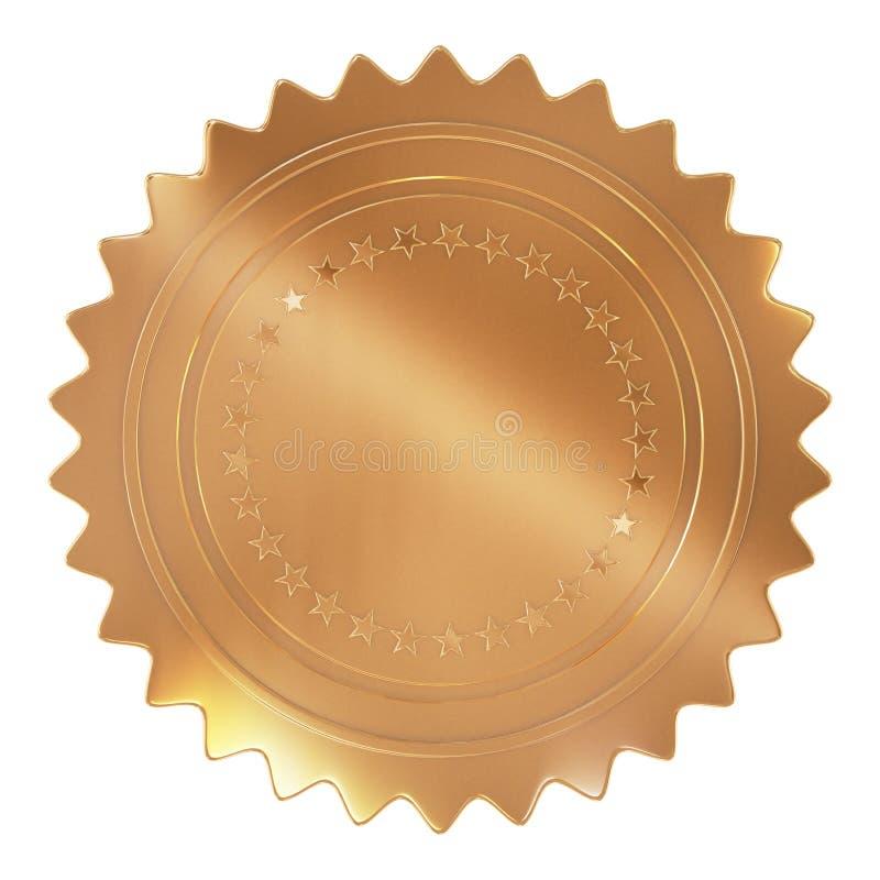 Gouden Verbinding stock illustratie