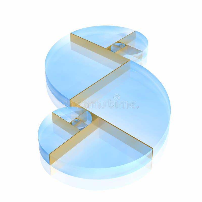 Gouden verhouding stock illustratie