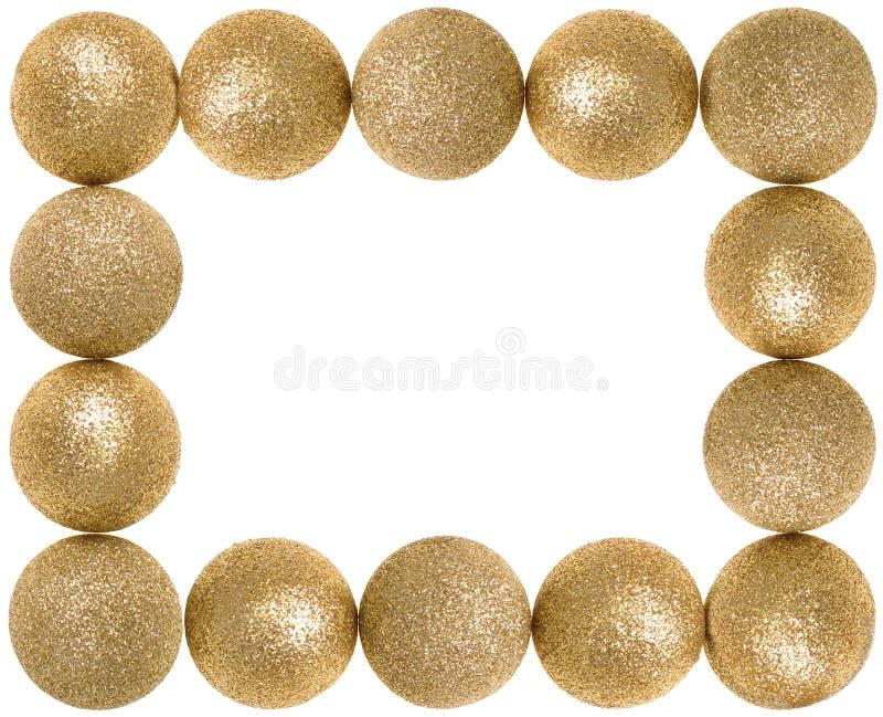 Gouden vierkant frame stock foto's