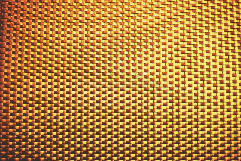 Gouden vierkante bloktextuur royalty-vrije stock fotografie