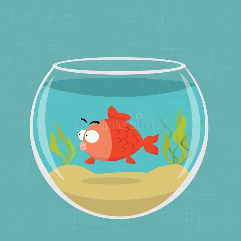 Gouden vissen royalty-vrije illustratie