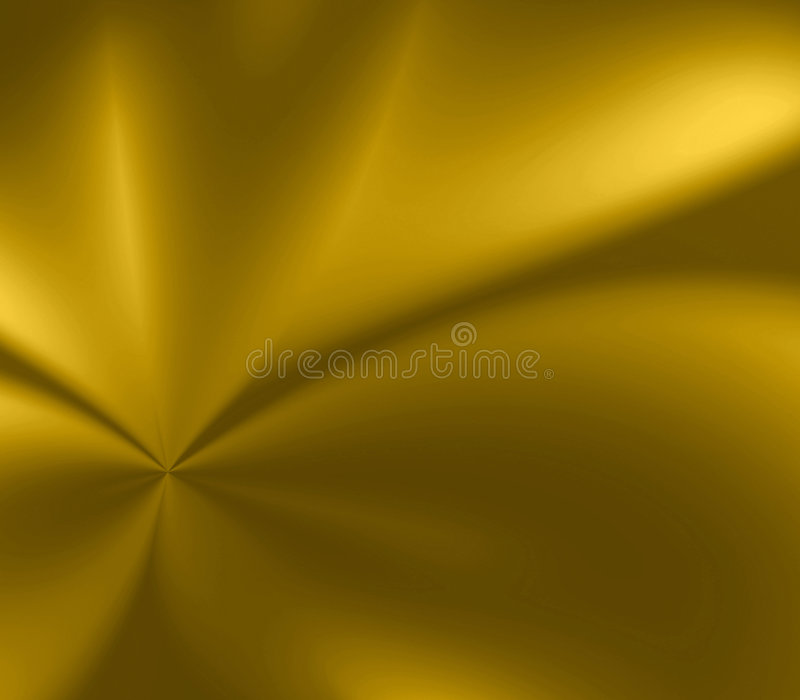 Gouden Vlotte Uitbarsting vector illustratie