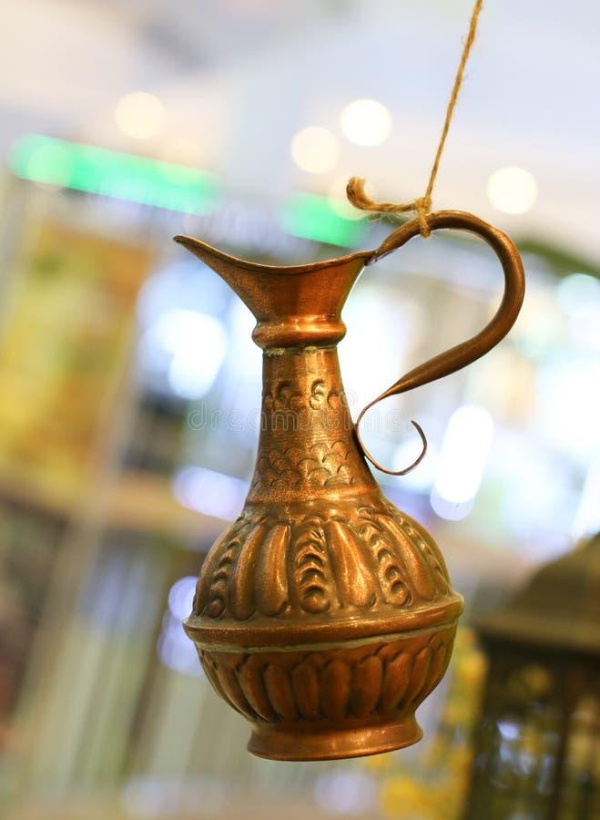 Gouden Waterkruik royalty-vrije stock afbeelding
