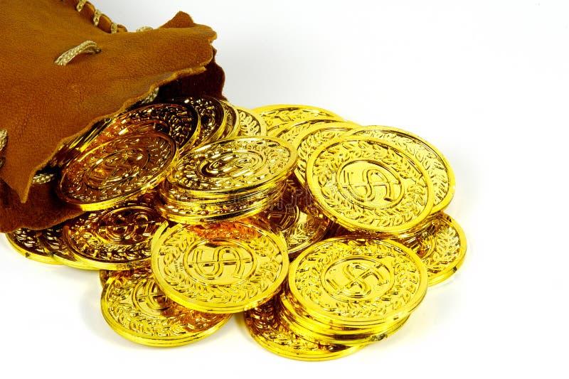 Gouden Zak royalty-vrije stock fotografie