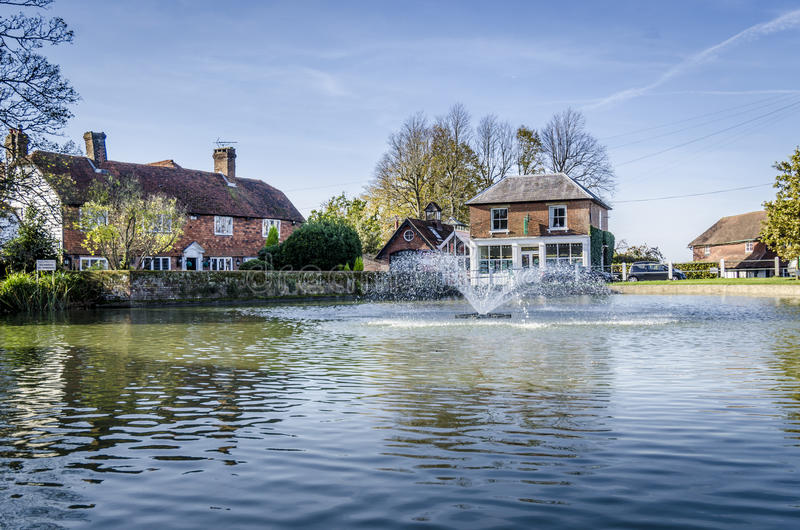 Goudhurst Village Pond royalty free stock image