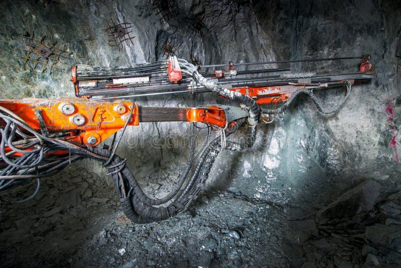 Goudwinning ondergronds royalty-vrije stock foto