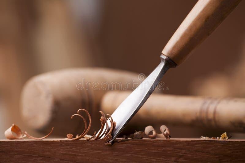 Gouge pour le bois images stock