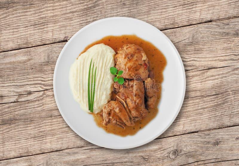 Goulache de poulet photos stock
