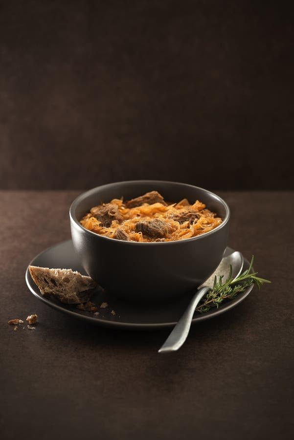 Goulash λάχανο στοκ εικόνα με δικαίωμα ελεύθερης χρήσης