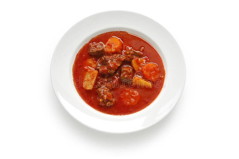 goulash σούπα στοκ εικόνες με δικαίωμα ελεύθερης χρήσης