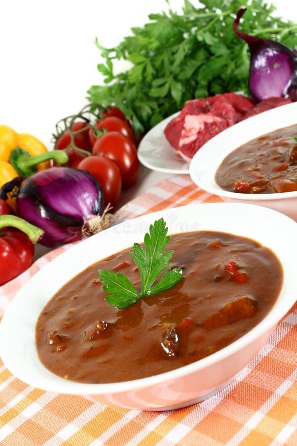 goulash σούπα στοκ φωτογραφία