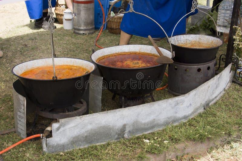 goulash σούπα στοκ εικόνα