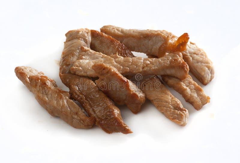 goulash χοιρινό κρέας στοκ εικόνες
