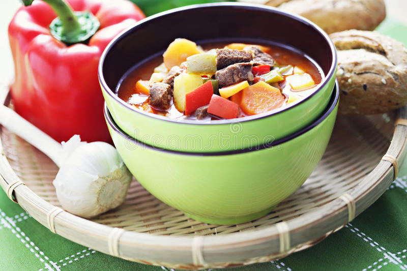 Download Goulash stock photo. Image of meat, food, dinner, bell - 23368688