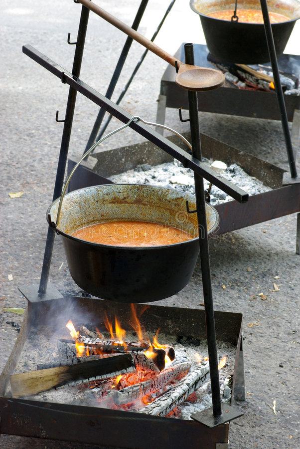 goulash στοκ εικόνες