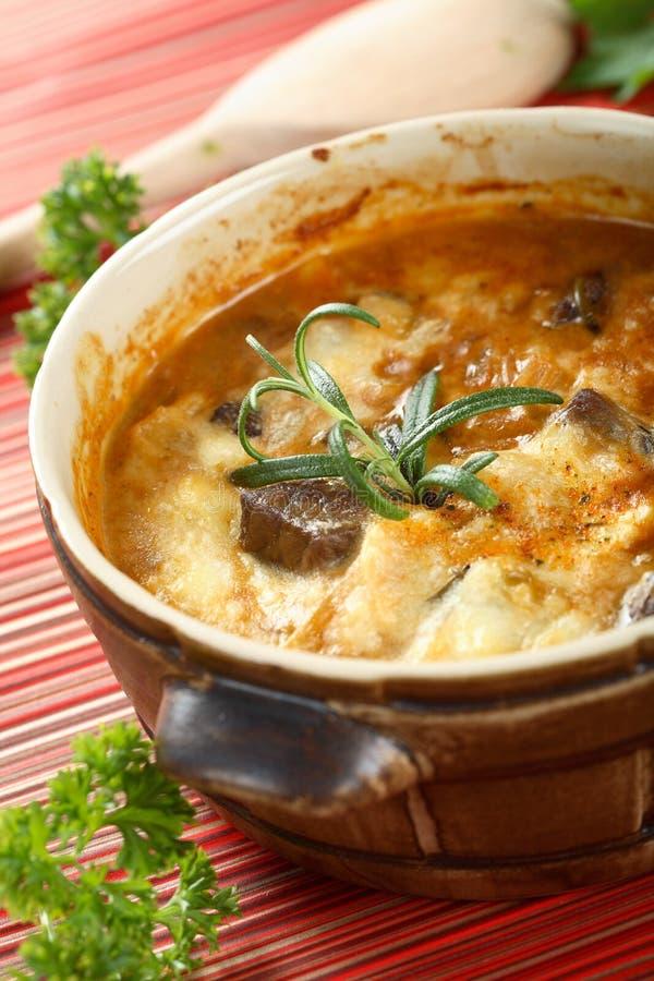 Goulash da carne de carneiro fotografia de stock royalty free