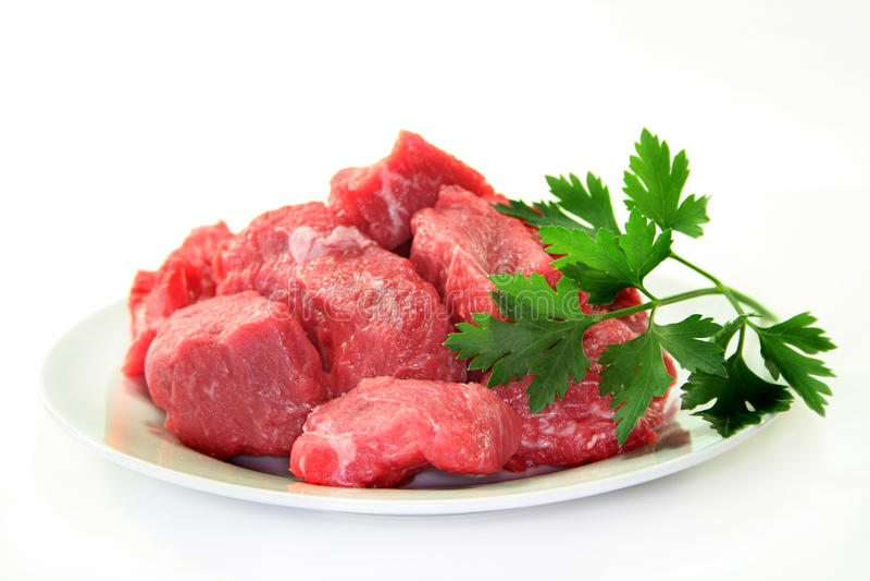 Goulash de carne imagem de stock