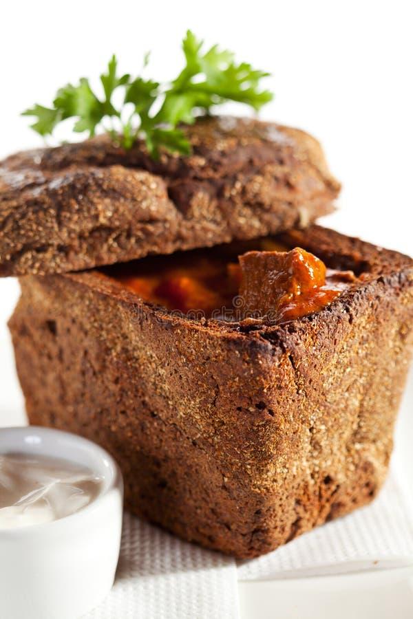 Goulash della minestra fotografie stock libere da diritti