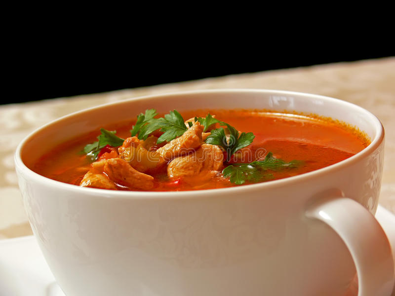 Goulash soup royalty free stock images