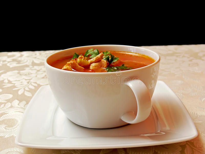 Goulash soup royalty free stock photos