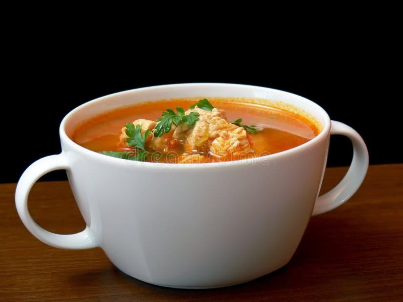Goulash soup stock photos