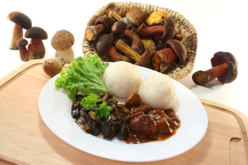 goulash venison στοκ φωτογραφία