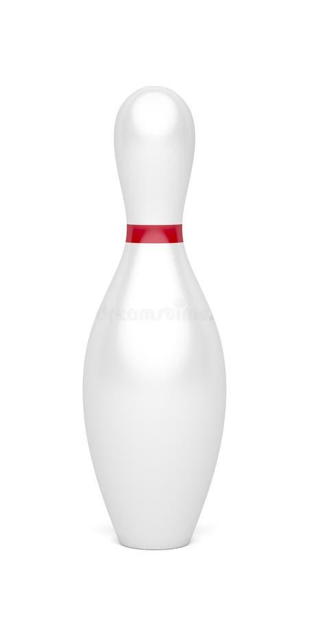 goupille de bowling de Dix-goupille illustration stock