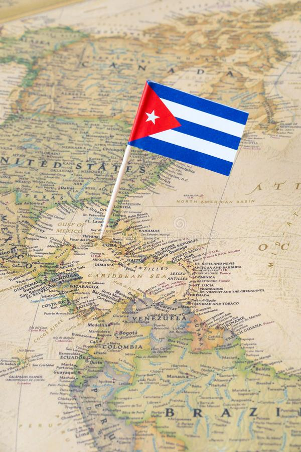Carte du Cuba photo stock. Image du course, touriste, voyage - 5995616