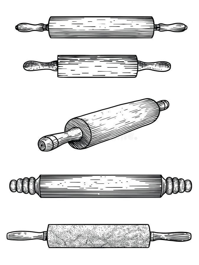 Goupille marbre bois silicone p tisserie cuisine - Ustensile de cuisine commencant par p ...
