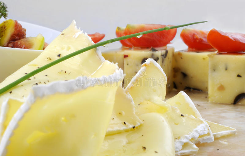 Gourmet appetizers royalty free stock photo