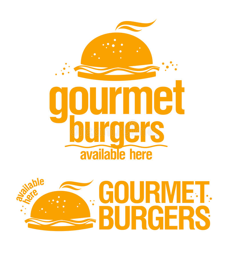 Download Gourmet Burgers Available Here Signs. Stock Vector - Illustration of illustration, american: 26017474
