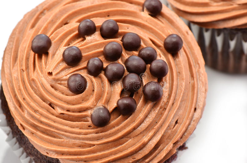 Download Gourmet Chocolate Iced Cupcakes Stock Photo - Image: 32319704