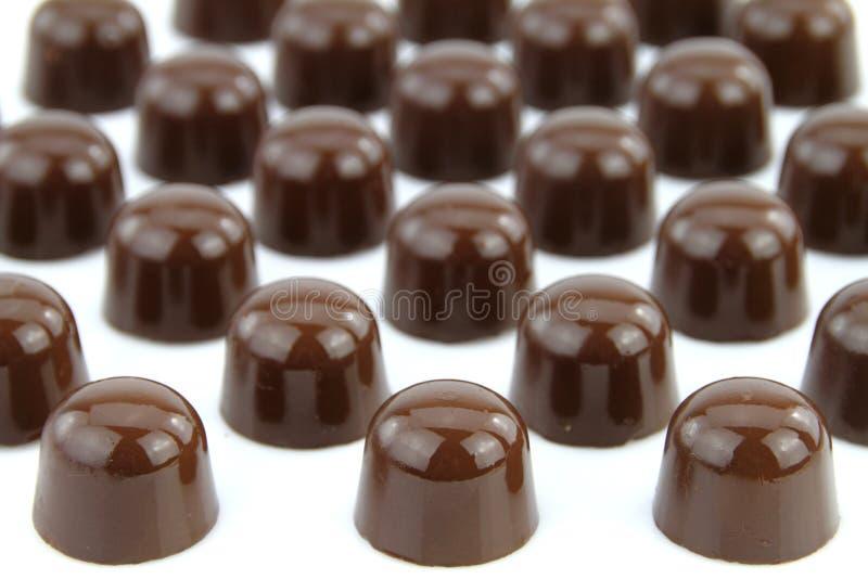 gourmet- choklader arkivfoton