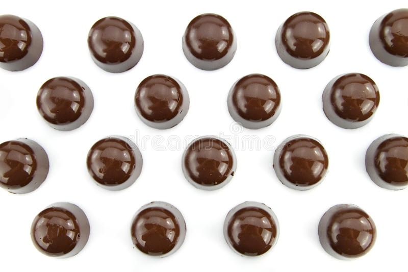 gourmet- choklader royaltyfri fotografi