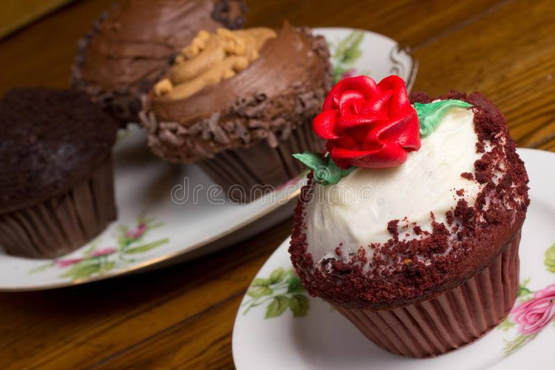 Download Gourmet Cupcakes stock photo. Image of decorative, decadent - 24051476