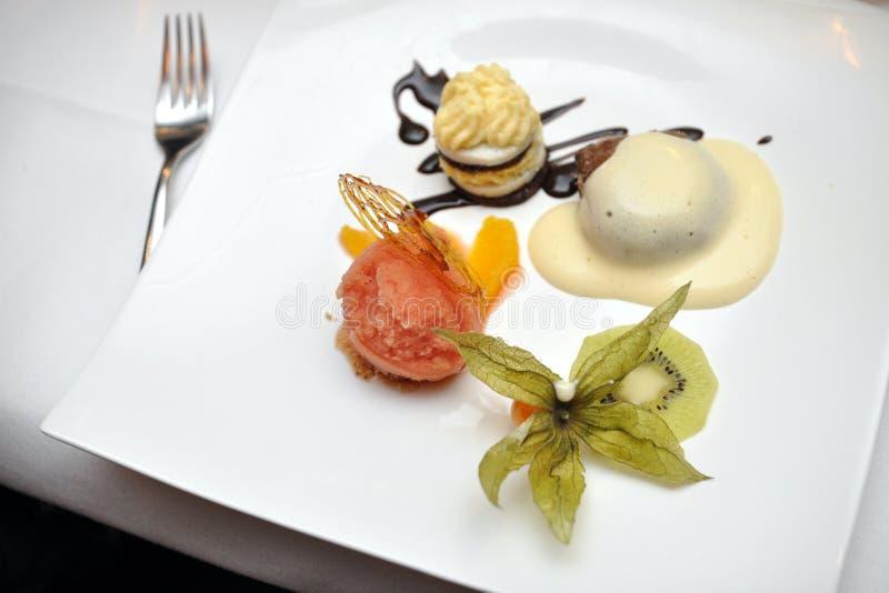 Download Gourmet dessert stock photo. Image of garnished, tropical - 23262472