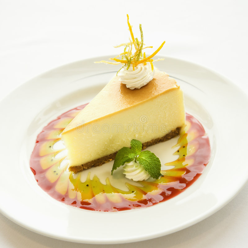 Download Gourmet dessert. stock photo. Image of gourmet, slice - 3422012