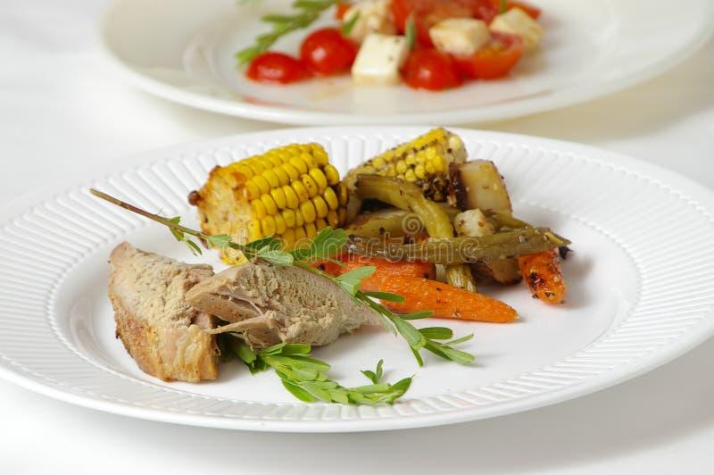 Gourmet Dinner royalty free stock photos