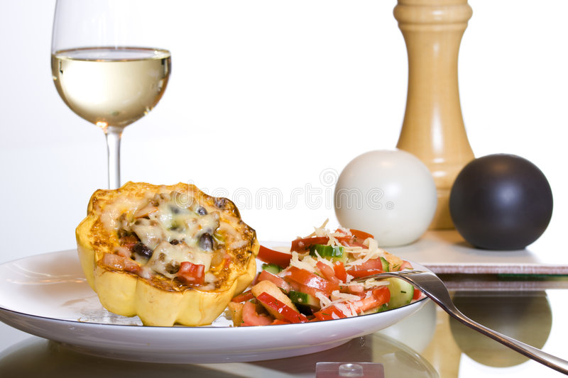 Download Gourmet dinner stock image. Image of delicious, cheese - 3738539