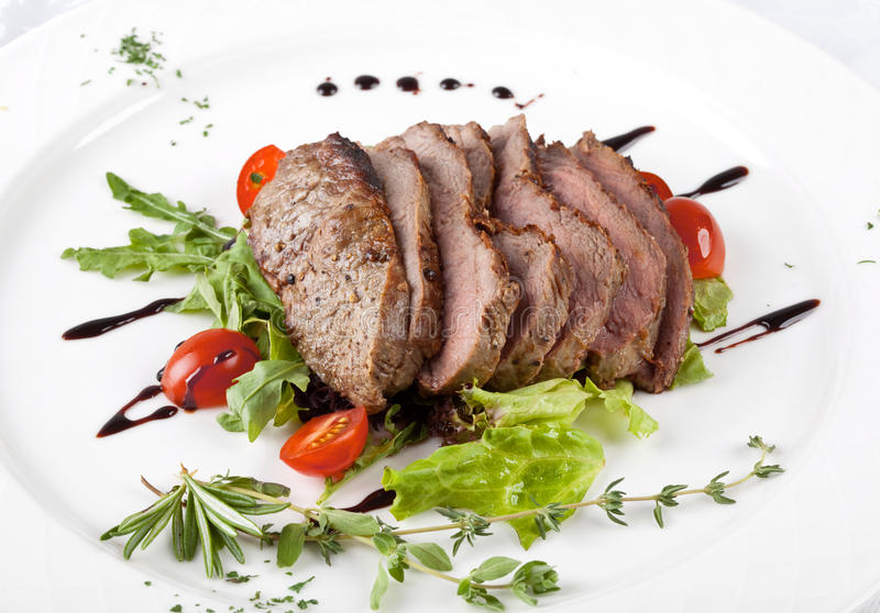 Gourmet fillet steak royalty free stock image