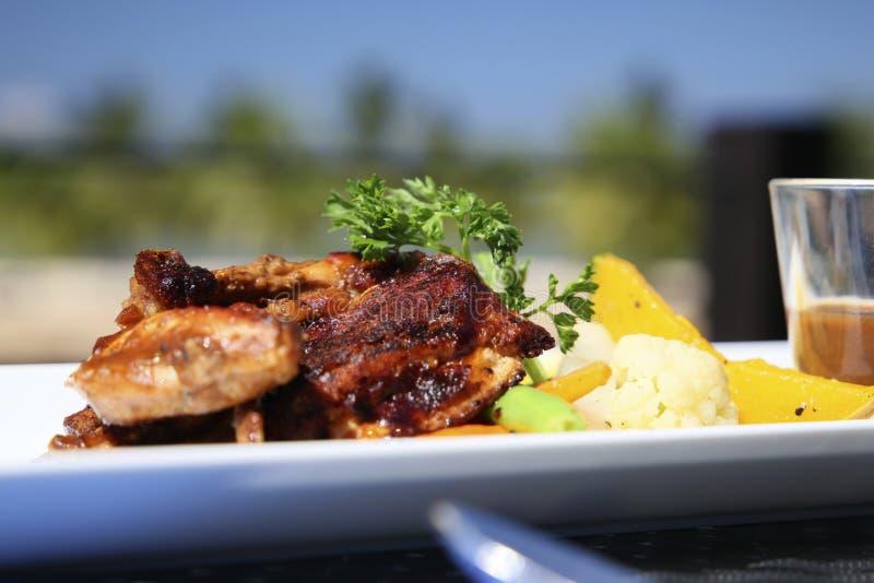 Gourmet food. Gourmet cuisine in the Sri Lanka hotel is 5 stars stock images