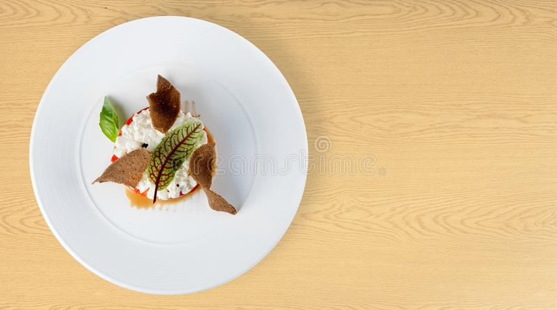 Gourmet food royalty free stock image