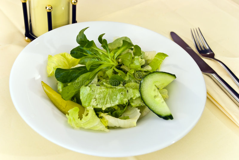 Gourmet grego salad.close acima foto de stock royalty free