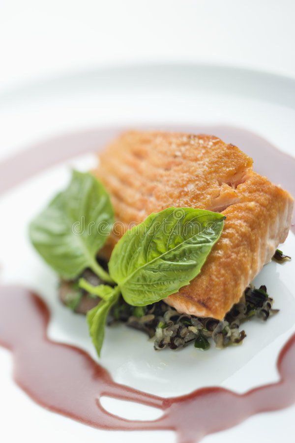 Free Gourmet Meal. Royalty Free Stock Photos - 2431448