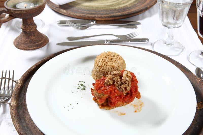 Download Gourmet plate stock photo. Image of dinner, slice, vegetable - 8633902