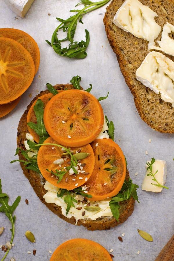 Gourmet- smörgås arkivfoto