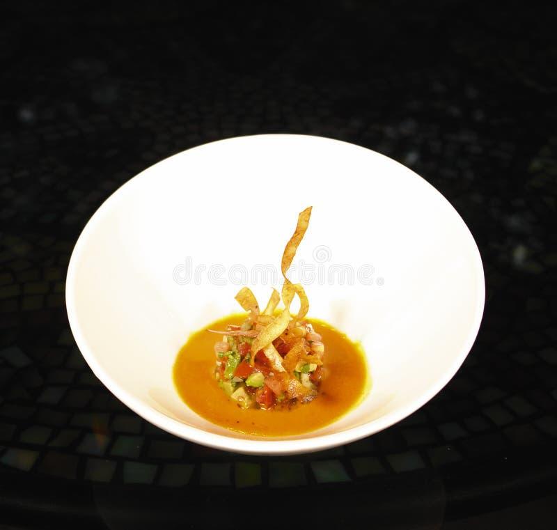 gourmet- souptomat royaltyfria foton